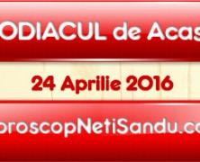 Zodacul de acasa 24 Aprilie 2016  – Aspecte Generale
